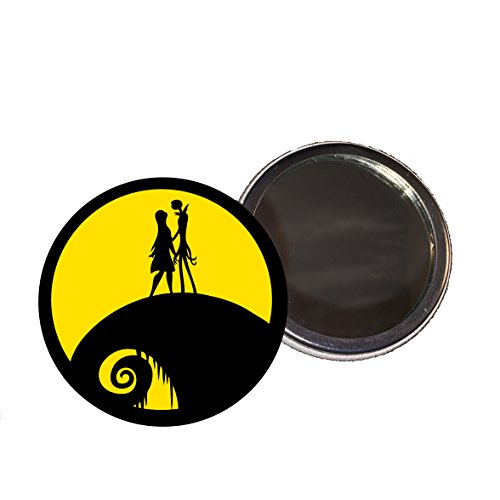 Jack and Sally 58mm Compact Mirror for sale  Delivered anywhere in UK