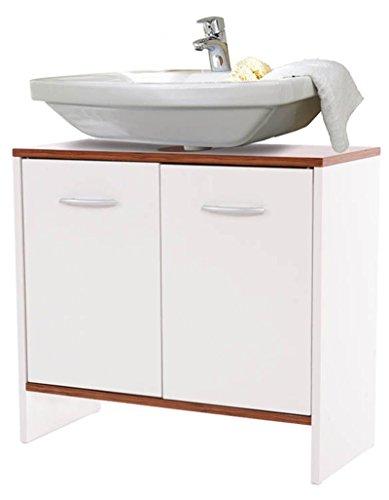Meuble pour lavabo Viola, Dim : H55 x L60 x P28 cm -PEGANE-