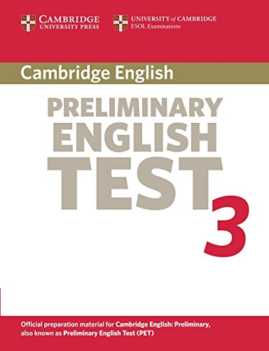 Cambridge preliminary english test. Student's book. Per le Scuole superiori: Cambridge Preliminary English Test 2nd 3 Student's Book: Examination ... ESOL Examinations (PET Practice Tests)