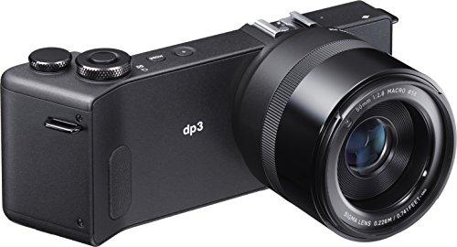 Sigma DP3 Quattro Fotocamera Compatta Digitale, Nero