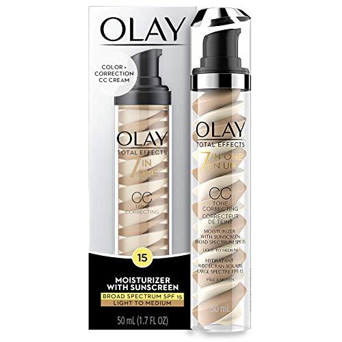 Olay Total Effects 7-in-1 Tone Correcting Uv Moisturizer, 1.7 Fluid Ounce