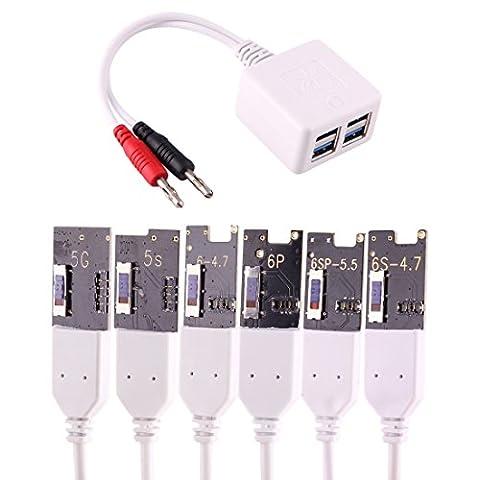 Kits de réparation Professional Phone Motherboard Flashing Current Testing Câble de charge d'activation de batterie pour iPhone 7 & 7 Plus & 6s & 6s Plus & 6 Plus & 6 & 5s & 5