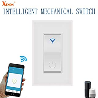 Hengzi WIFI Smart Socket Remote Control Switch Kompatibel mit Alexa Echo/Google Home