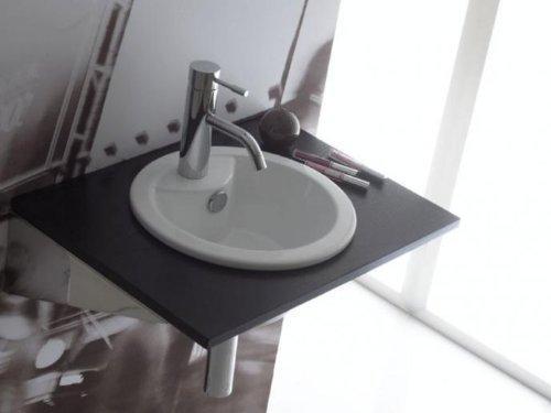 THE BATH COLLECTION - LAVABO DE ENCASTRE REDONDO DUBLIN 330*330*155 MM