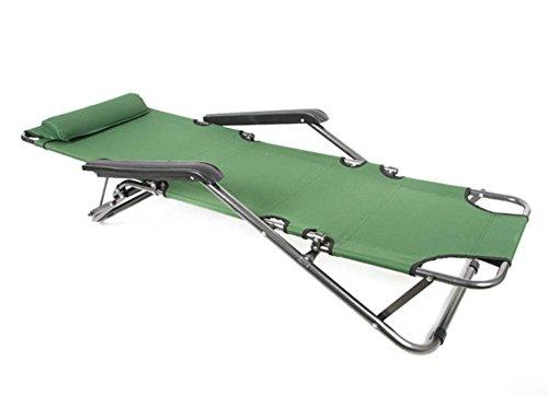 Il pranzo Letto singolo pranzo a sdraio letto pieghevole letto all'aperto multifunzionale pieghevole sedia da ufficio , 2