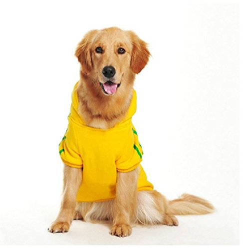 DUOZE Große Hunde Hund Fleece Pullover Golden Retriever