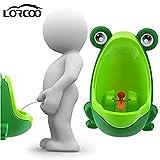 Lorcoo - Kinder-Urinal, Urinal für Jungen in Frosch-Form für Baby Pee Pissoir Training