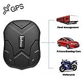 3 Mois de Veille en Temps réel antivol GPS Tracker pour véhicule Voiture avec Aimant Puissant 5000mAh Batterie TK905 Traqueur