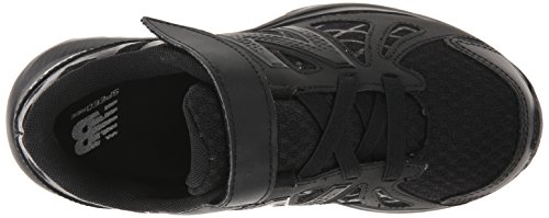 New Balance KV690P Uniform Running Shoe (Little Kid) Black/black