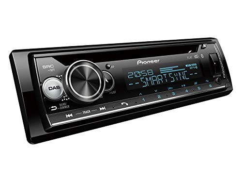 Pioneer-DEH-S720DAB-1-DIN-Autoradio-inkl-DAB-Antenne-mit-Bluetooth-passend-fr-Mini-OneCooper-R50-2001-2002-schwarz