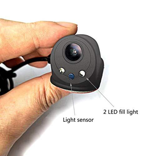 Drahtlose Rückfahrkamera des Handys, Nachtsicht-Videoüberwachungs-5V-Stromversorgung der Vorderansicht des Autos von Links-Ansicht von rechts-Ansicht