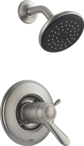 Delta T17T238-SS Lahara Tempassure 17T Series Shower Trim, Stainless by DELTA FAUCET (Lahara-serie)