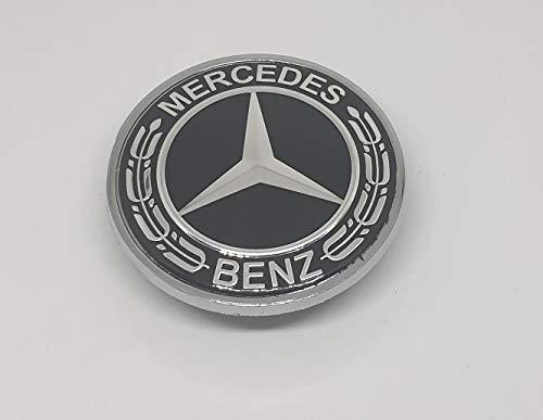 Preisvergleich Produktbild Daniko Emblem für MB 57mm Motorhaube Schwarz A0008171701 Neu