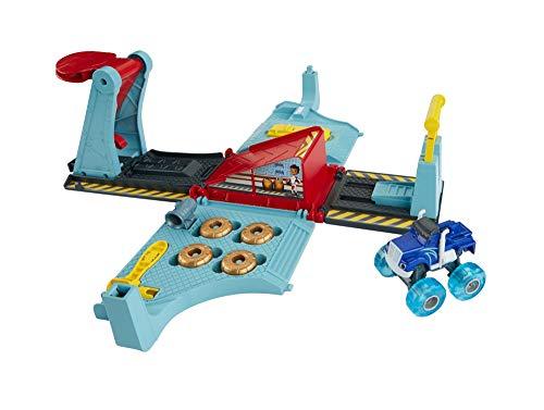 Blaze officina mega salti-kit pista macchinina monster truck giocattolo 3+ anni, fhv41