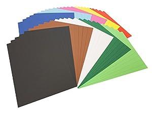 Folia 614/50 09 - Papel fotográfico A4, 50 hojas, colores variados