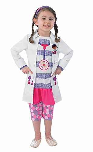 Kinder Kostüm Ärztin Doc McStuffins Gr.3-4 Jahre (Kostüme Doc Mcstuffins)
