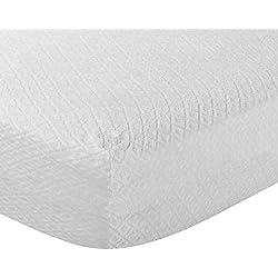 Pikolin Home - Protector de colchón rizo antialérgico (antiácaros, bacterias y antimoho). 105x190/200cm-Cama 105 (Todas las medidas)