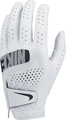 Nike Herren Tour Left Regular Golf Handschuhe, White/Black, XL (Personalisierte Golf-handschuhe)