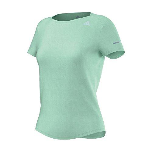 Adidas sequencials t-shirt de course pour femme Vert - Vert