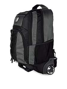 Giordano 15 inch Laptop Strolley Bag(Grey and Black)