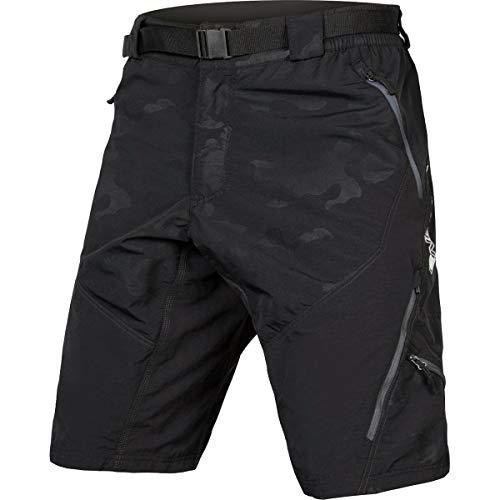 Endura Hummvee Mountain Bike Baggy Bike Short II, Herren, Schwarz-Camo, Small (Bike Shorts Canari)