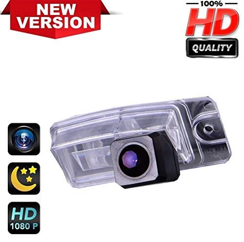 Rückfahrkamera HD1280 x 720p Rückfahrkamera für Nummernschild, Nachtsicht, IP69k, wasserdicht, für Sentra Pathfinder Nissan X-Trail Altima Murano Quest Crossover (Sentra Nissan Für Auto-zubehör)