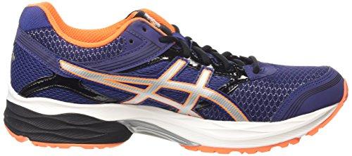 Asics Gel-Pulse 7, Chaussures de Running Compétition Homme Bleu (deep cobalt/silver/hot orange 5093)