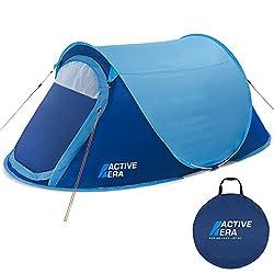Active Era™ Zelt, groß, für 2 Personen, Pop-up-Zelt, Wurfzelt, wasserbeständig, belüftet und haltbar