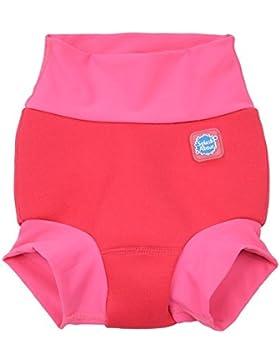 Splash About Chica Nueva y mejorada Happy Nappy, niña, Neue und verbesserte Happy Nappy, Pink Geranium, small