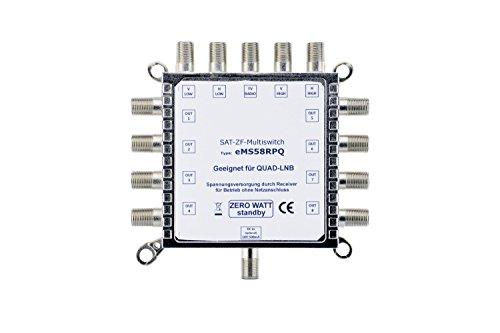 Digital-Commutatore 5in 8Multiswitch 5/8-a risparmio energetico con zero Watt funzione sleep-EMS 58RP