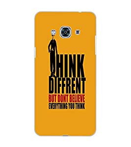 SAMSUNG GALAXY J3 PRO THINK DIFFERENT Back Cover by PRINTSWAG