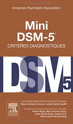 Mini DSM-5 Critères Diagnostiques PDF