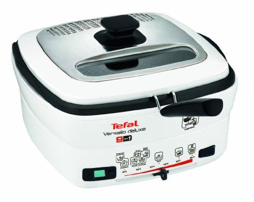 Tefal FR4950 Solo 2L 1600W Color blanco - Freidora (2 L, 1,3 kg, 80 °C, 180 °C, Solo, Color blanco)