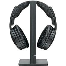 Sony Headset - Auriculares de diadema cerrados inalámbricos (reducción de ruido), negro