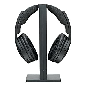 Sony MDR-RF865RK Cuffie Wireless Radiofrequenza, Nero