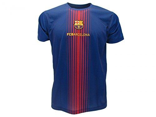 Trikot Fußball Barcelona Lionel Messi 10 Replik Official 2017-2018 Kinder Junge Männer (Größe 10 Jahre)