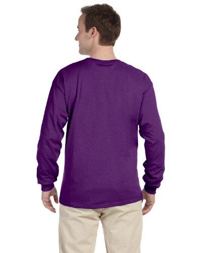 Gildan Kleidung–Hemd Purpur
