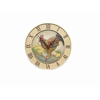 Adorn Polyresin Uhr Motiv