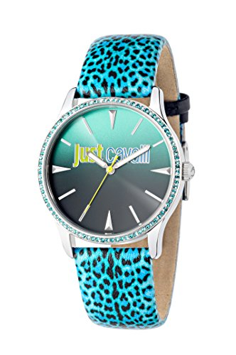 Just Cavalli Just Paradise Women's Quartz Watch with Multicolour Dial Analogue Display and Multicolour Leather Strap R7251211504