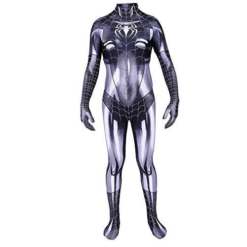 Black Cat Cosplay Kostüm Spiderman - CVFDGETS Spider Man Symbiote Black