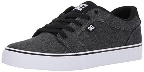 DC ANVIL TX SE Unisex-Erwachsene Sneakers Black/Dark Grey/White