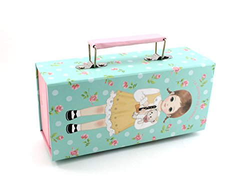 SHERAGO™ Pen/Pencil Box for Girls & Boys || Best Suitable for School Kids, Travelers and Students || Multipurpose Box/Case with Inbuilt Combination Lock System. (Golden Hairy Baby)
