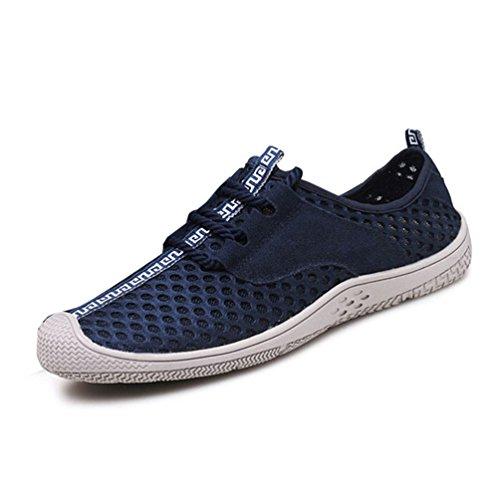 Chaussure de Randonnée Outdoor Légère pour Homme Été Chaussure de Plage d'eau en Toile Respirante Antidérapant