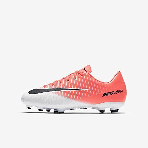Nike Mercurial Victory Vi Fg, Scarpe da Calcio Unisex – Bambini RACER PINK/BLACK-WHITE
