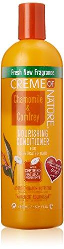 Creme of Nature Traitement Nourrissant à la Camomille et à la Consoude pour Cheveux Déshydratés 450 ml