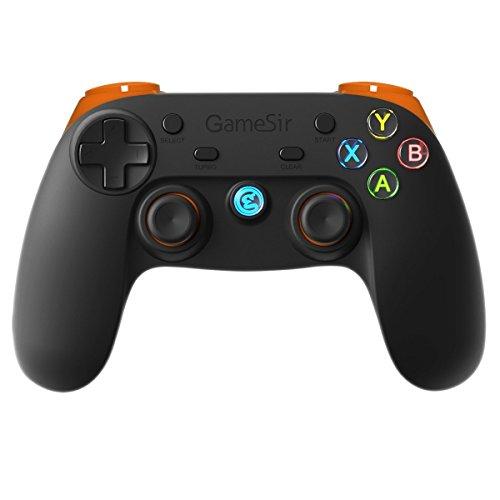 GameSir G3s Controlador Mando Bluetooth para Juegos Inalámbrico para Android / PC / PS3 / VR - Naranja