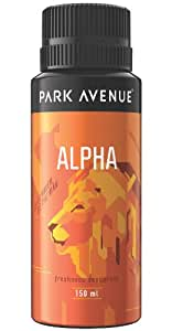 Park Avenue Alpha Body Deodorant for Men, 150ml
