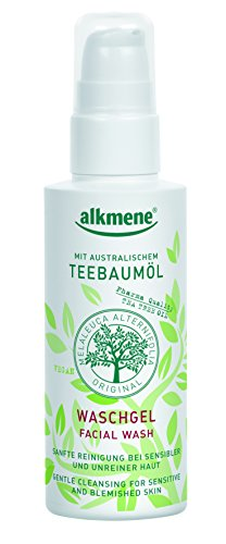 alkmene Teebaumöl Waschgel - Tea Tree Oil Melaleuca gegen Pickel, vegan, 3er Pack (3 x 150 ml)