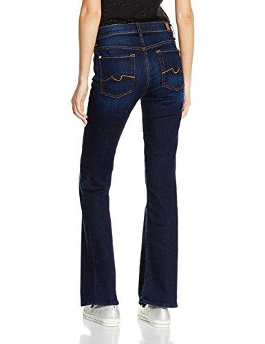 7 For All Mankind Damen Jeanshose Bootcut Blau (Indigo 0Wc)