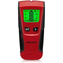 WELQUIC Detector de Pared Encontrar Stud Finder con 3-en-1 Metal AC Alambres